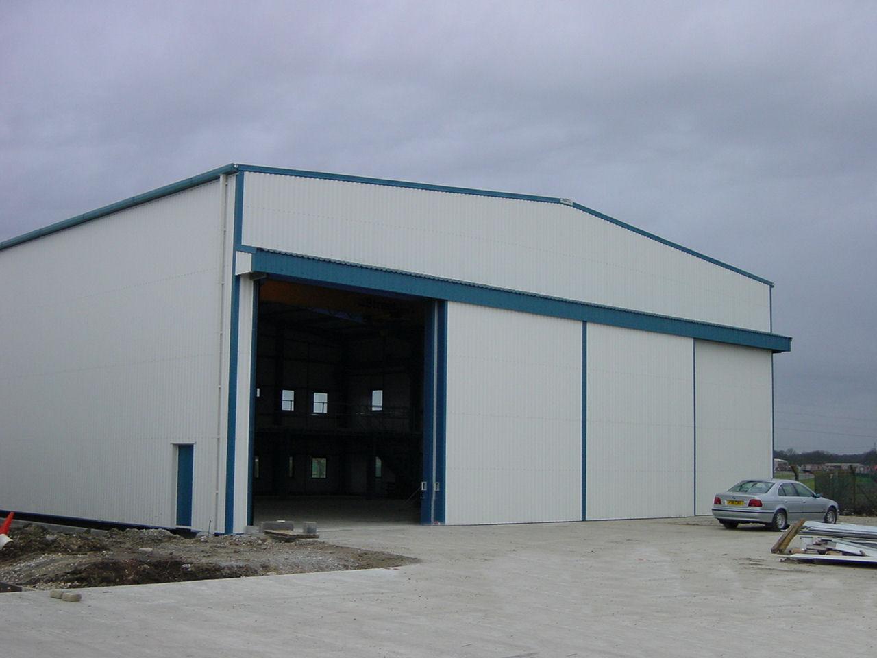 Discovery Yachts Industrial Factory Buildings By Reidsteel