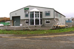Road view of RPM Shopfronts manufacturing unit in South Wales