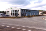 A single Manufacturing unit built by REIDsteel on Brymenyn Industrial Estate